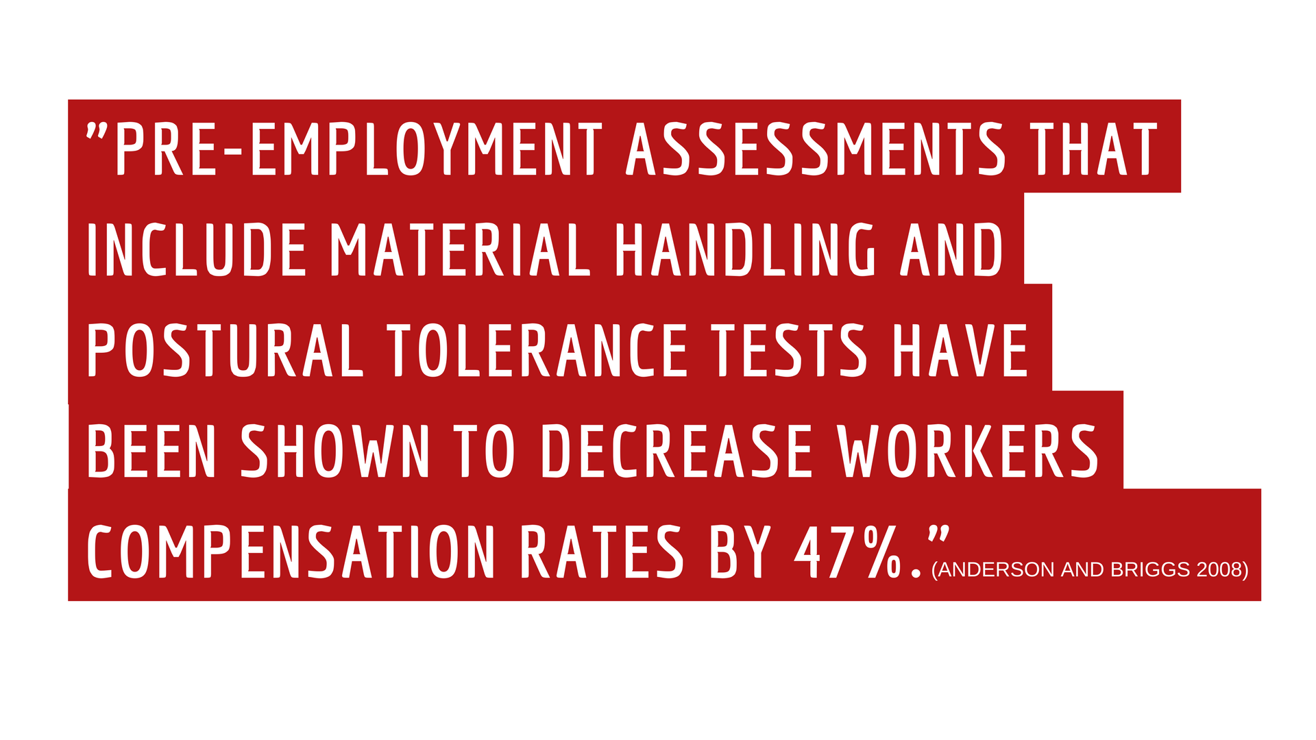 PRE-EMPLOYMENT ASSESSMENTS